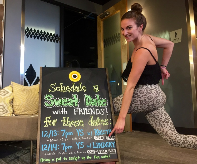 Yoga instructor at CorePower Yoga in Bellevue, Washington