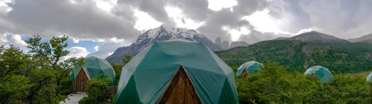 EcoDomes in Torres del Paine National Park