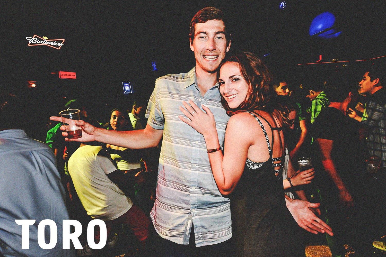 Couple at Toro Club in Lima Peru