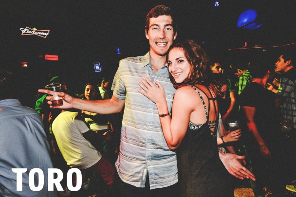 Couple at Toro Club in Lima Peru