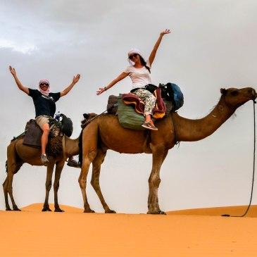Morocco Camel Trekking in Sahara Desert