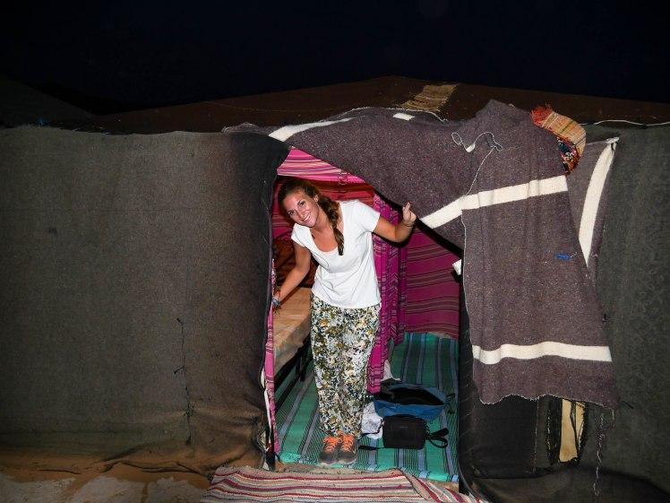 Sahara Desert Tent in Morocco