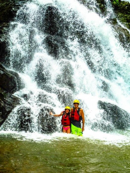 Waterfall Rio Savegre Costa Rica