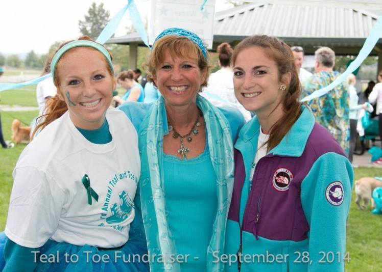 Love Hate Relationship With Ovarian Cancer Walk Go 4 The Globe