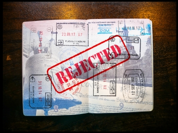 USA Passport Pages Stamped