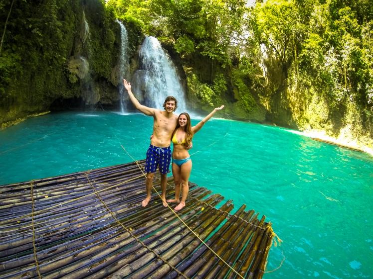 Kawasan Falls raft ride