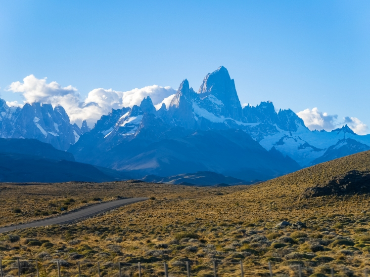Mount Fitz Roy from the road