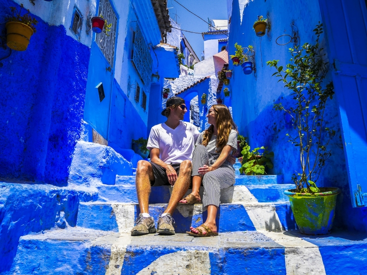 In the blue city of Morocco - Chefchaouen