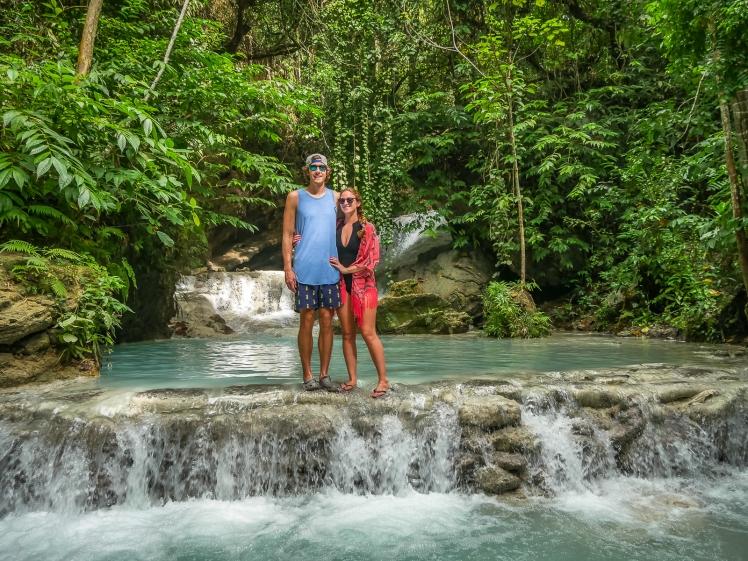 Aguinid Falls in Cebu Philippines