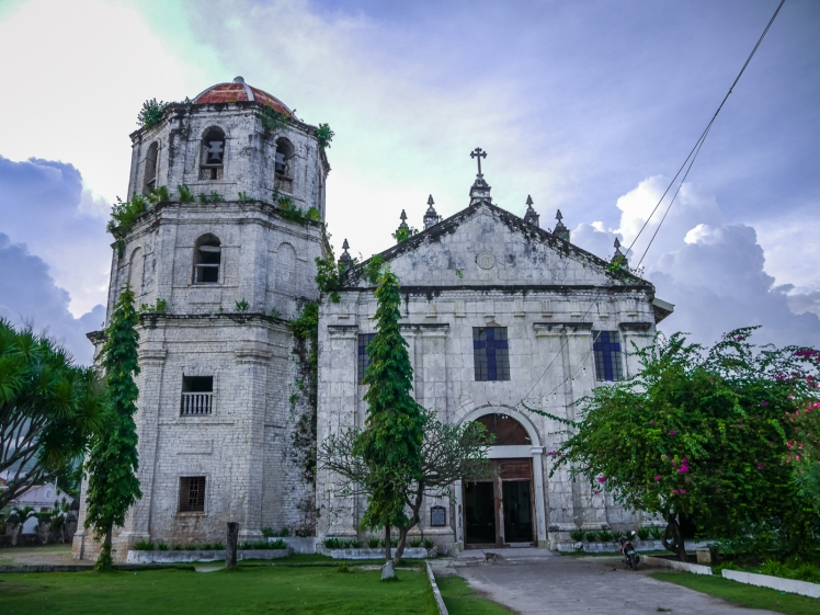 Our Lady of Immaculate Concepcion Church in Oslob, Philippines