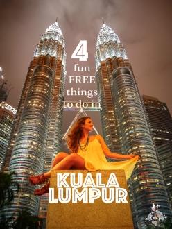 funfreethingstodo.KualaLumpur.PetronasTowers.Night.travelgirl.go4theglobe
