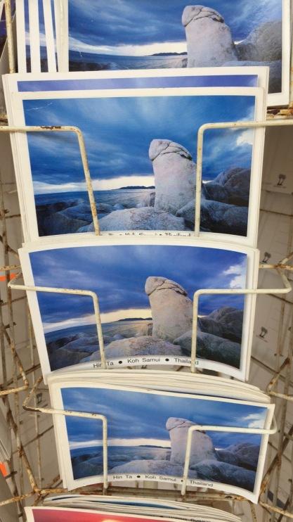 Postcards for sale of Grandpa Rock (Hin Ta)