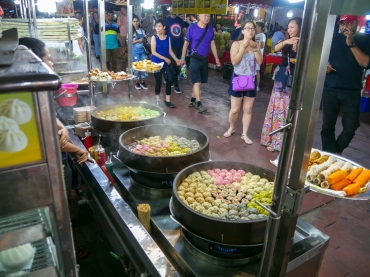 Dumplings at Jalan Alar food street