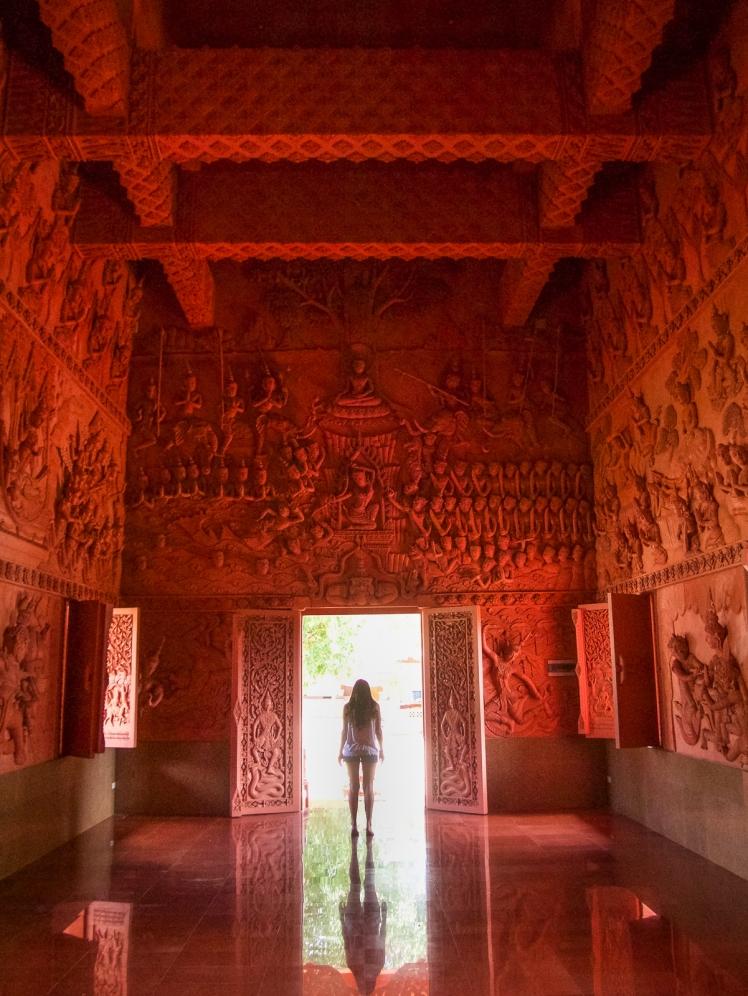 Inside Wat Ratchathammaram
