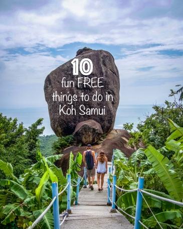 Overlap Stone Koh Samui Thailand