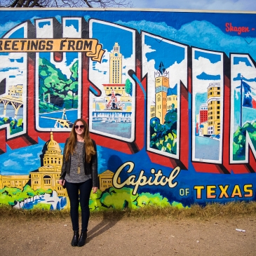 Greetings from Austin, Texas Wall