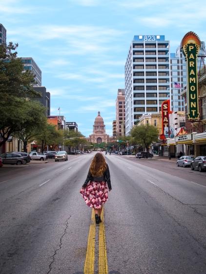 South Congress Ave in Austin, Texas