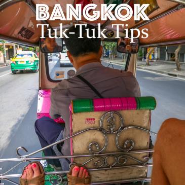 Bangkok Tuk-Tuk Tips