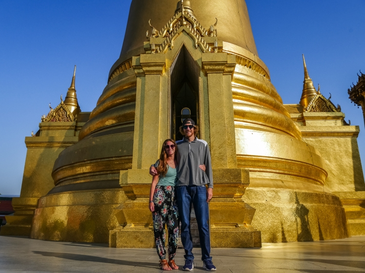 Wat Phra Kaew (at the Grand Palace in Bangkok)