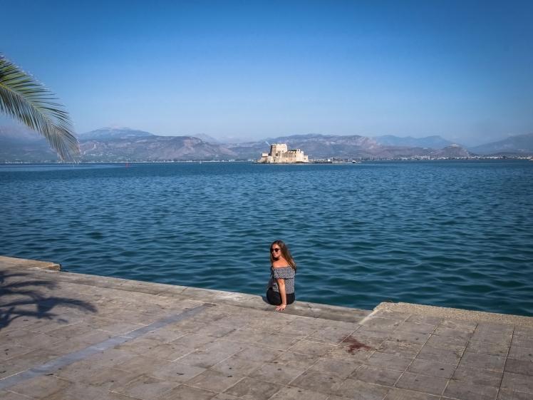 Bourtzi.Castle.Nafplio.Greece.go4theglobe
