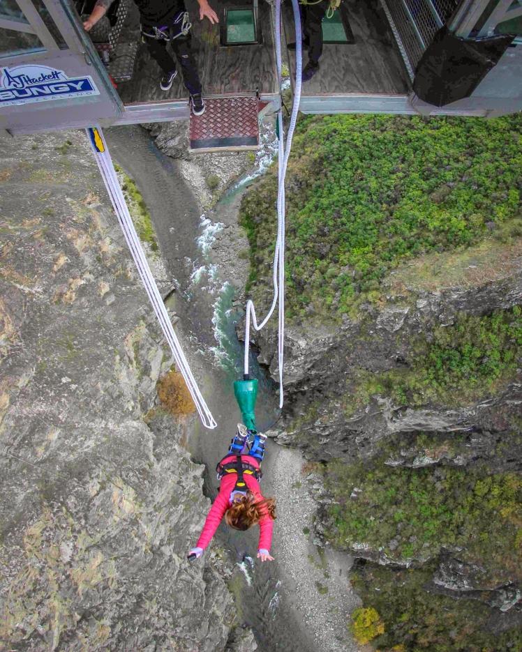 Nevis Bungy Jump New Zealand