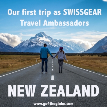 Our first trip as SWISSGEAR Travel Ambassadors - New Zealand