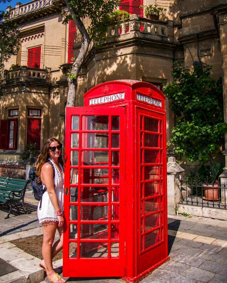 British phone booth in Malta