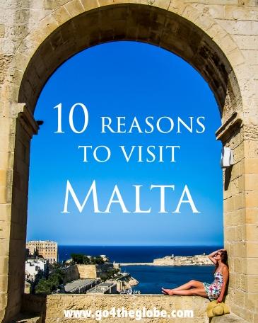 10 reasons to visit Malta