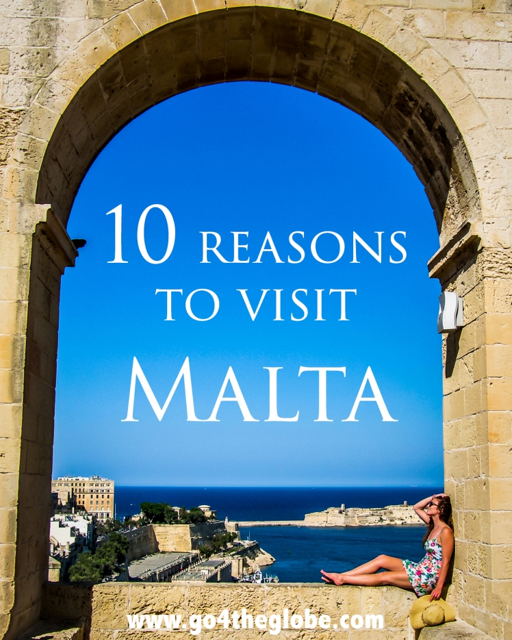 10 reasons to visit Malta