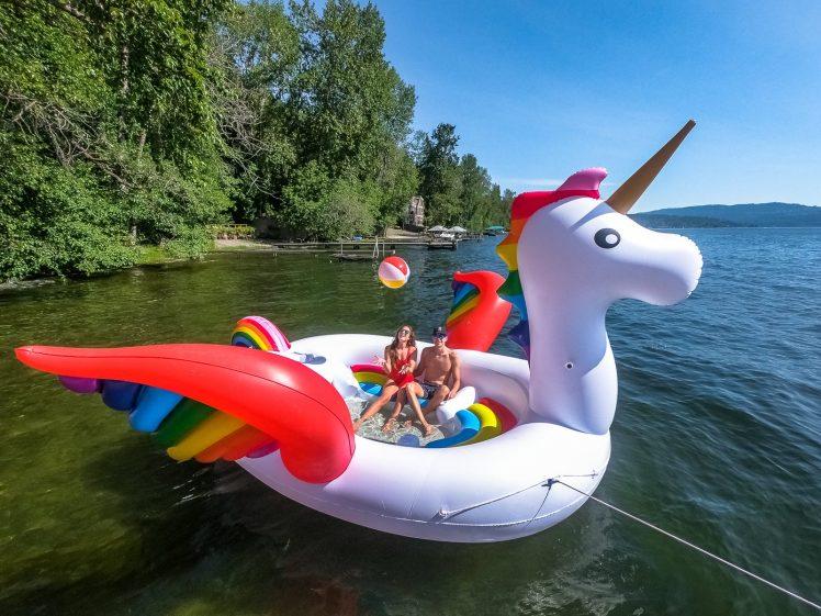 Giant Unicorn Float