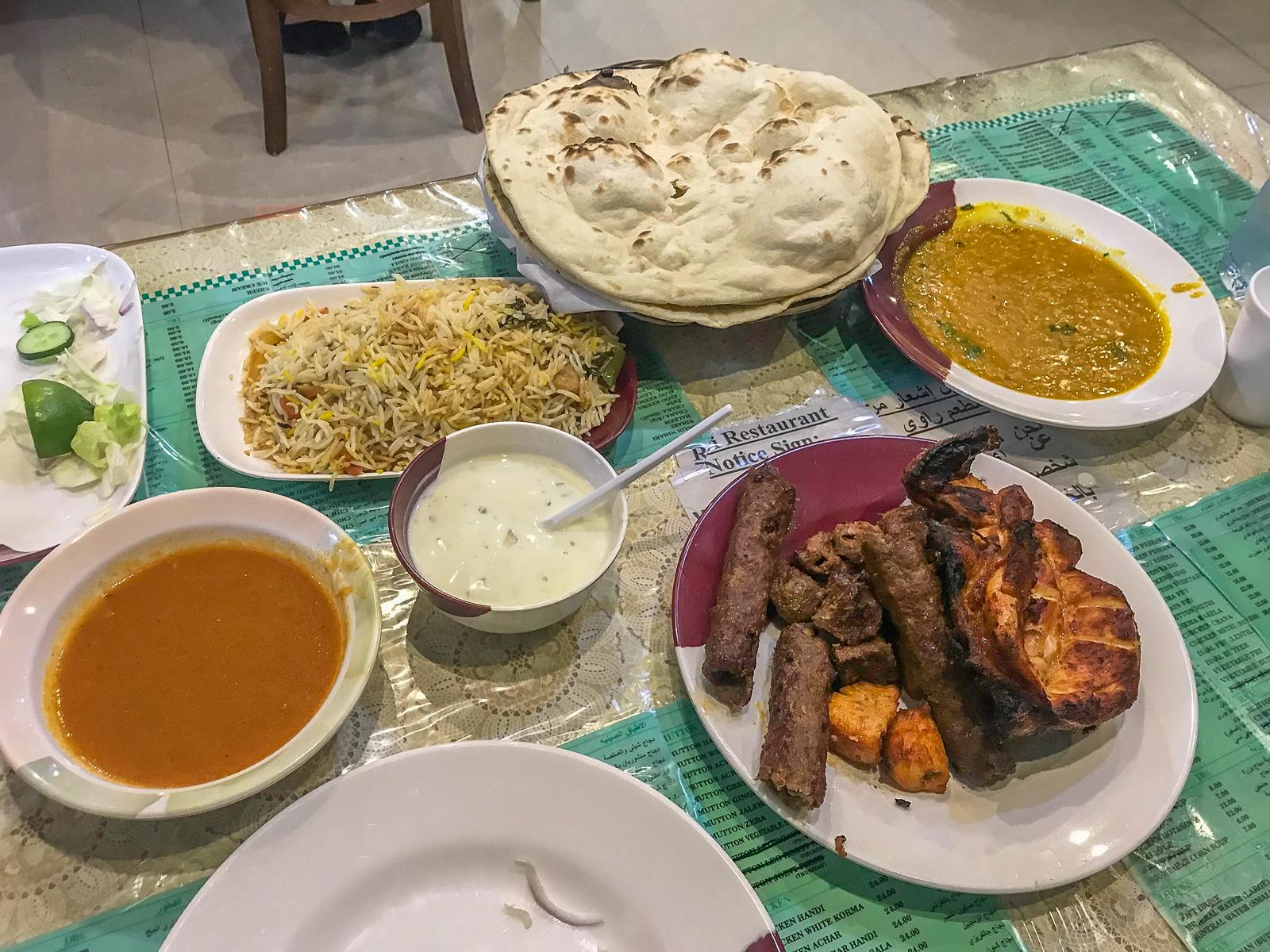 Dinner at Ravi Restaurant
