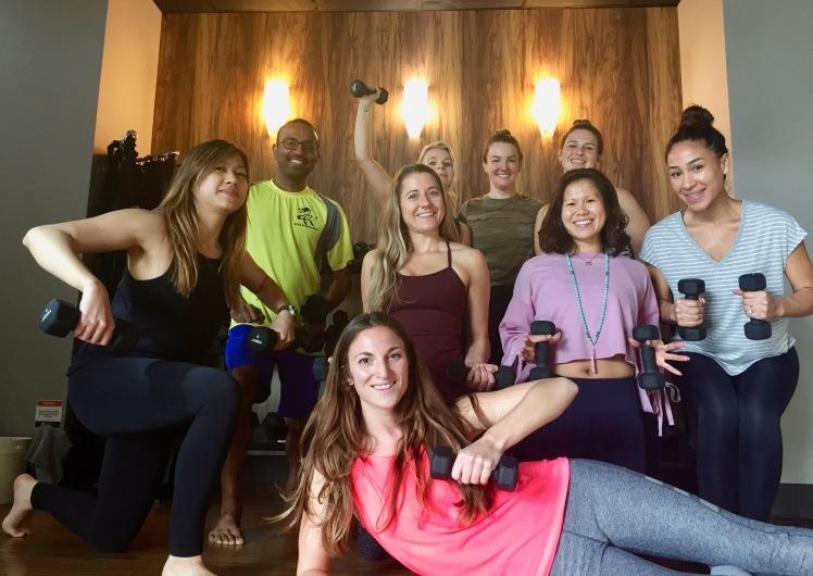 Yoga Sculpt Teacher Training Class