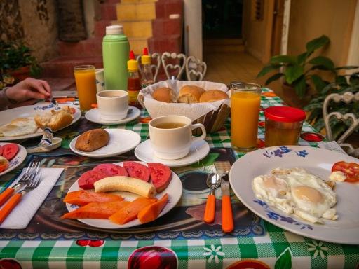 Cuban breakfast