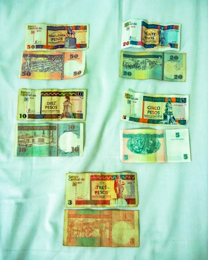 Cuban tourist currency