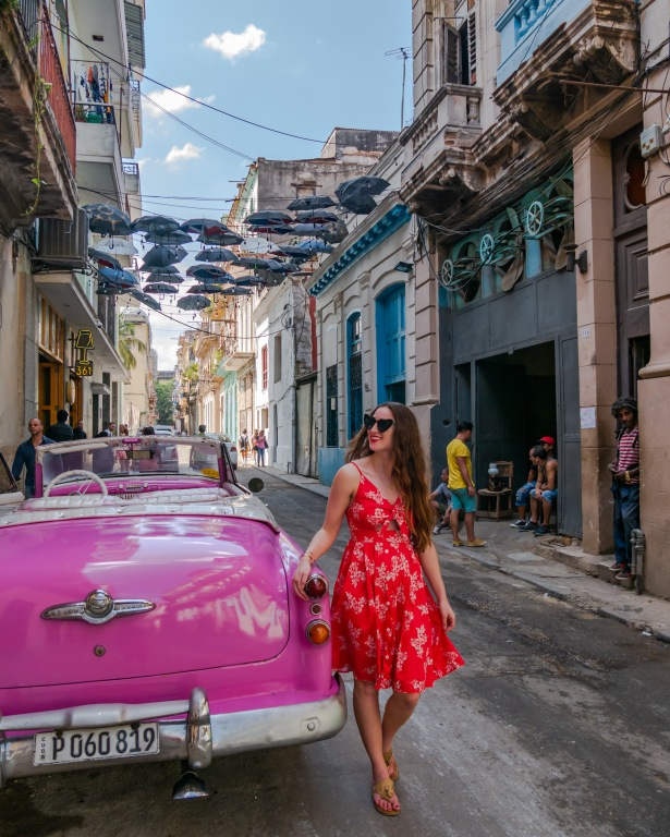 Colorful streets of Havana, Cuba