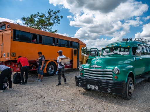Truck and bus from Viñales to Trinidad