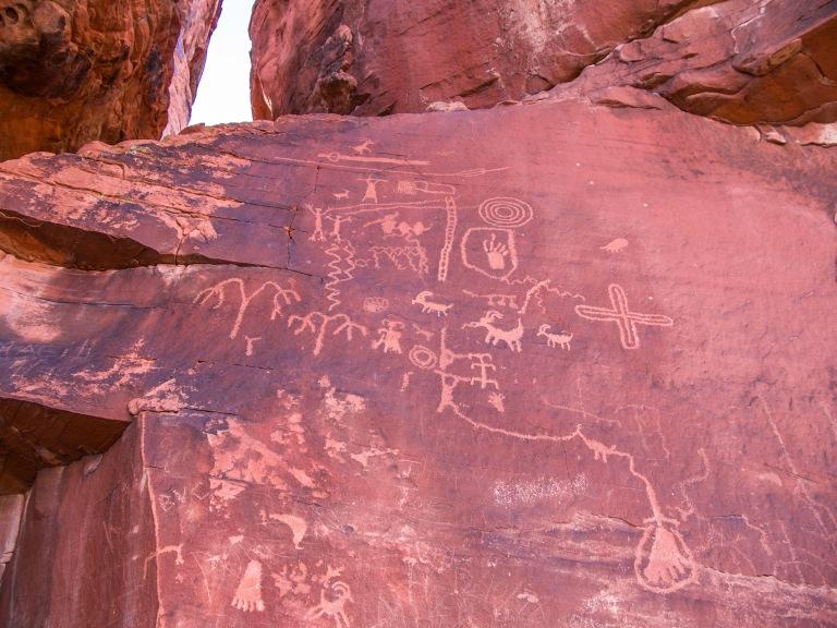 Petroglyphs Atlatl Rock